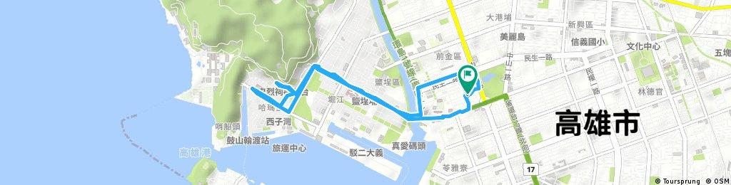 Quick ride through 前金區