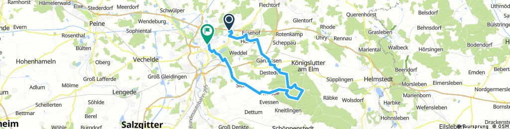 Hondelage - Tetzelstein - Siegfriedviertel