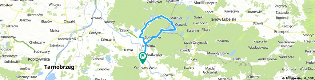 Lengthy bike tour from 15 sierpnia, 10:03