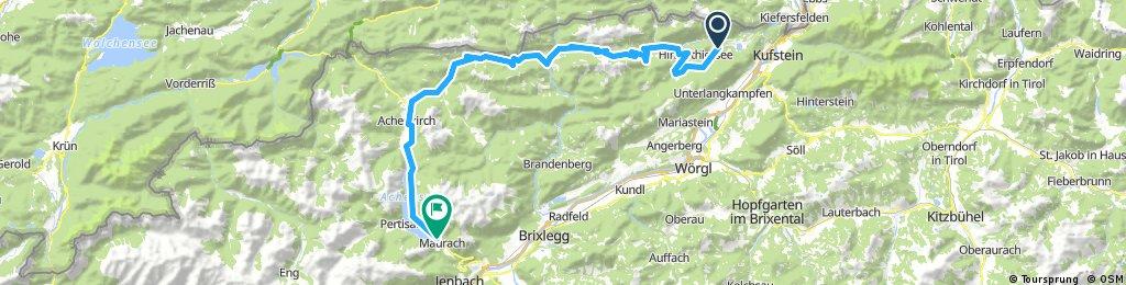 Karwendel MTB Tour - Etappe 1