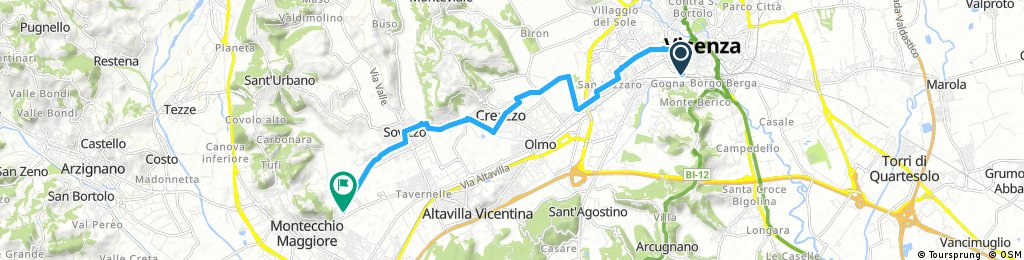 Vicenza-Stazione - Villa Cordellina-Lombardi