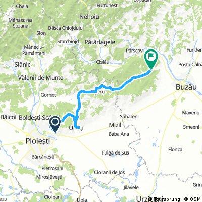 Route alternative Chitorani - Mierea