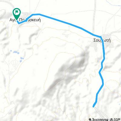 bike tour through Agia Paraskevi
