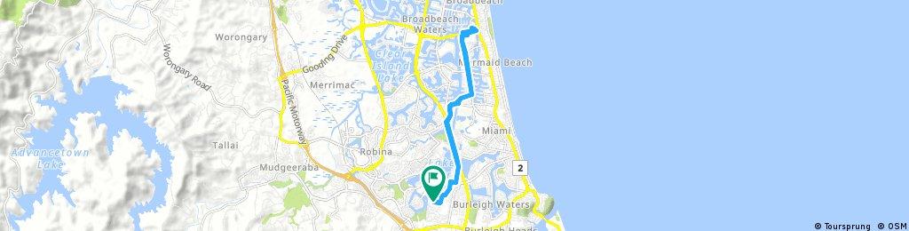 bike tour from 2 September, 5:18 am