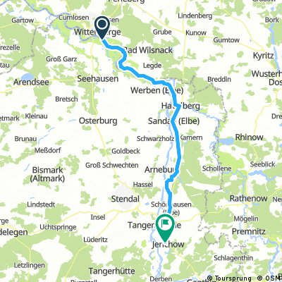 Tag 4 Wittenberge - Jerichow