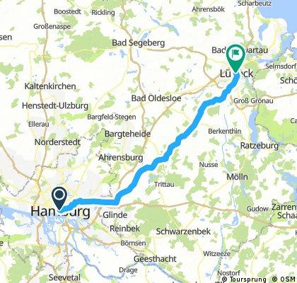 Hamburg to Lübeck