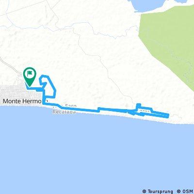 MTB- Monte Hermoso-Circuito Carrera
