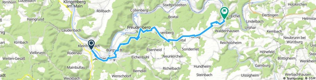 Lange Ausfahrt durch Wertheim