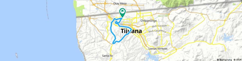 Listo prueba superado 26 kl vamos por más ride through Colonia Lomas Taurinas