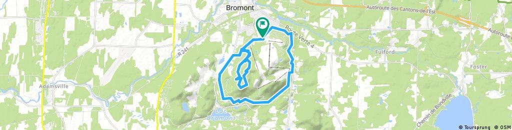 Bromont 24 km