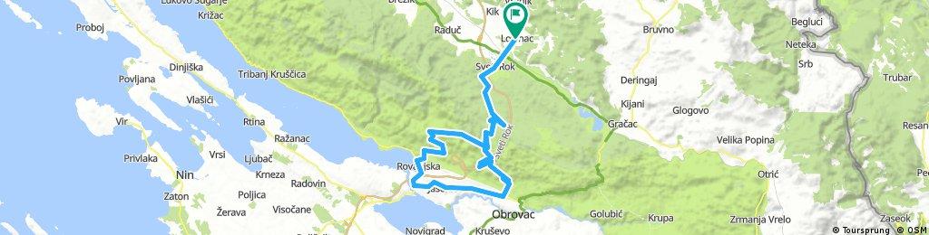 Bike route ''Velebit''