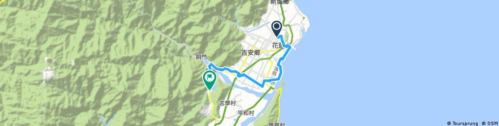 Biking Taiwan 2017 Hualien Taitung Trip Plan A Day 1