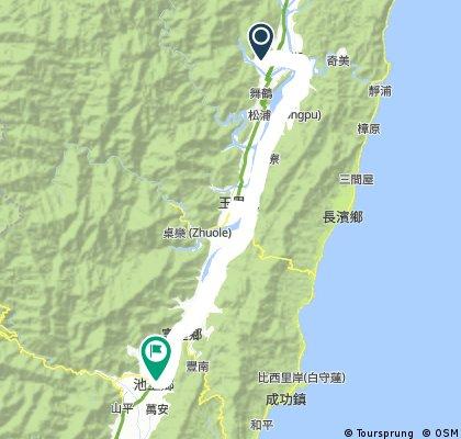 Biking Taiwan 2017 Hualien Taitung Trip Plan A Day 3