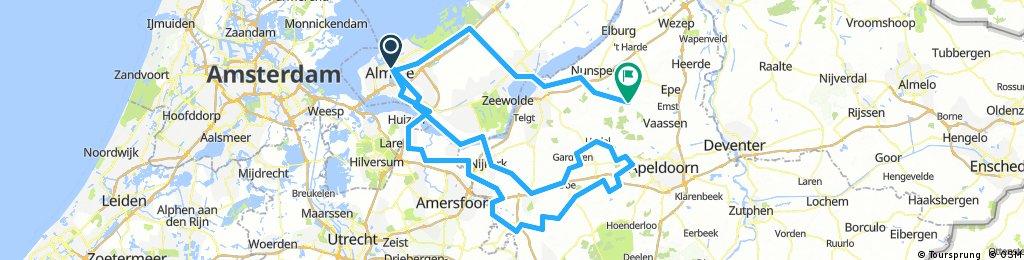 Gildetocht vanuit Almere