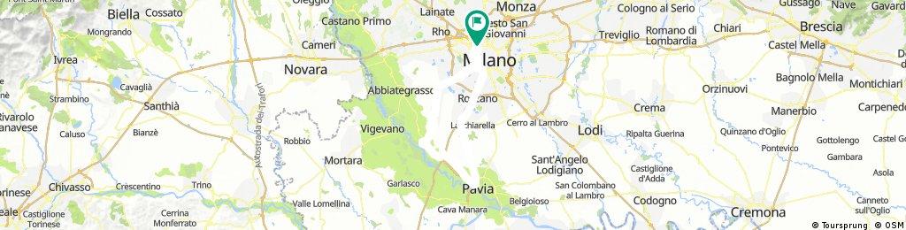 Milano Gaggiano Motta V. Pavia Binasco Milano