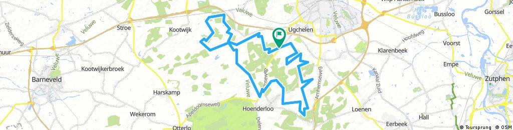MTB Oranje route