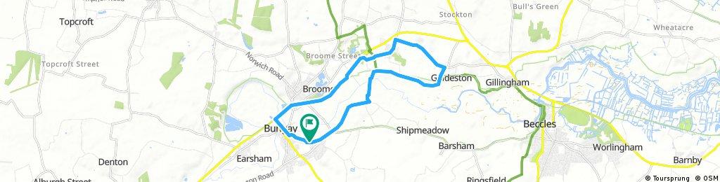 Bungay, Ellingham, Geldeston and Ditchingham Round
