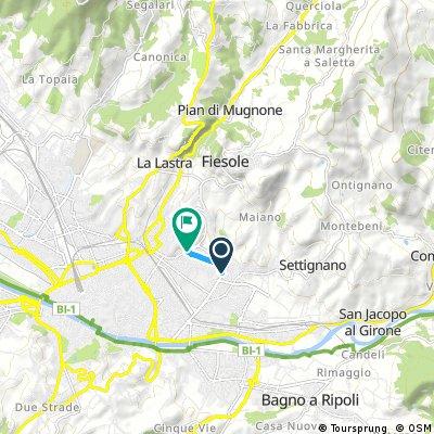 Fiesole Countryside Loop