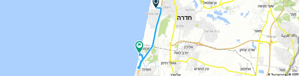 From Hadera to Mikhmoret