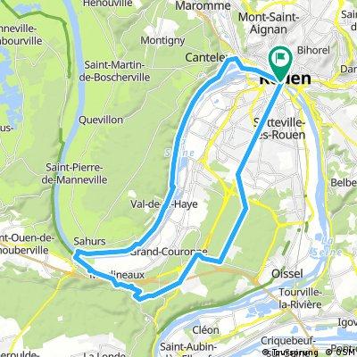 Circuit Rouen La Bouille