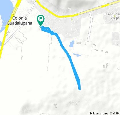 Brief ride through Puente Grande
