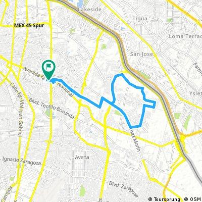 Paseo Juárez en Bicla 1