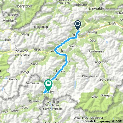 Transalp - Etappe 2 - Tarrenz nach Nauders