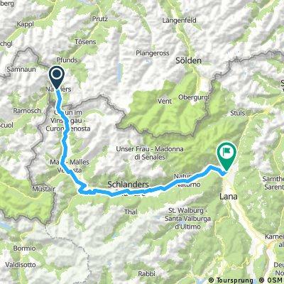Transalp - Etappe 3 - Nauders nach Meran