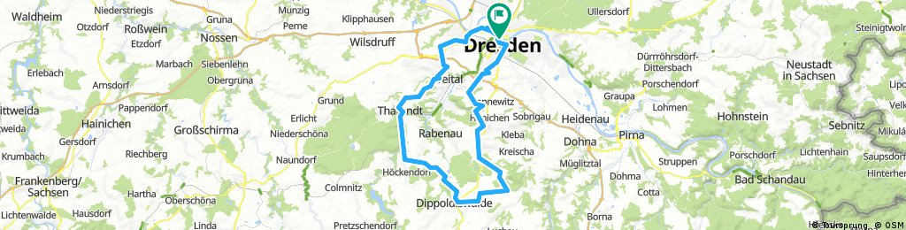 Schnuppertraining kurze Route