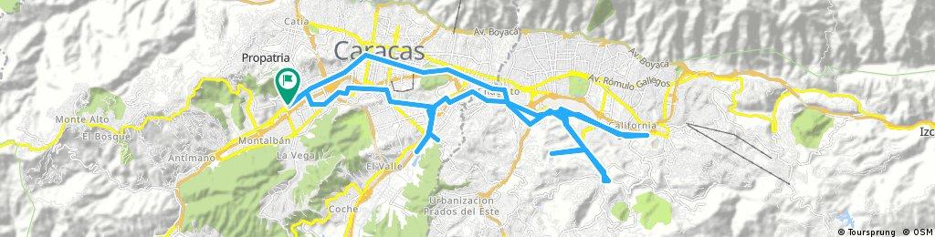 ruta oeste este