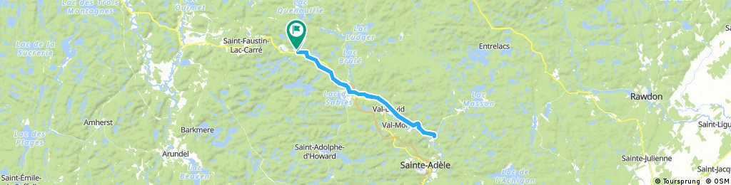 Camping Lausanne à Ste-Adèle 30 août 10:00