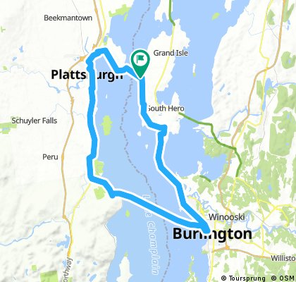 Lake Champlain - Triple Ferry Loop