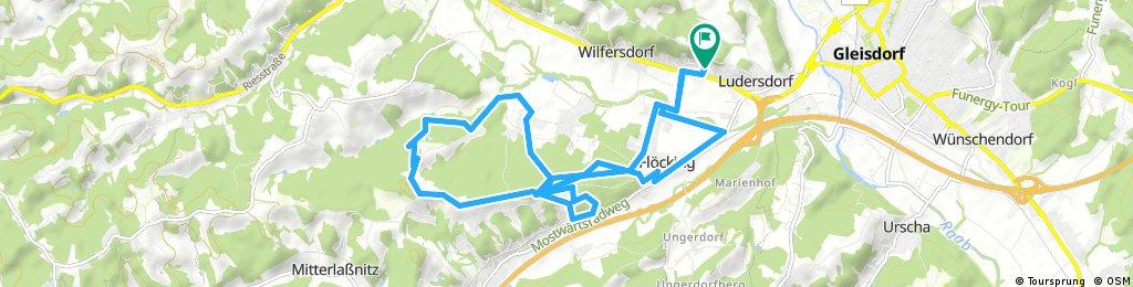 Radrunde durch Ludersdorfl-Waltersdorf