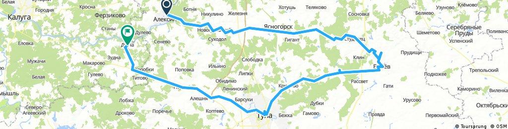 Алексин - Венев-Тула-Дугна