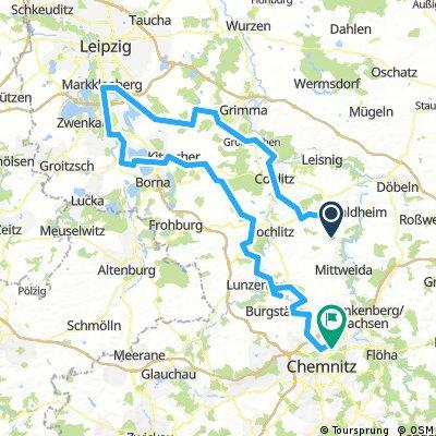 Schweikershain - Markkleeberg - Chemnitz