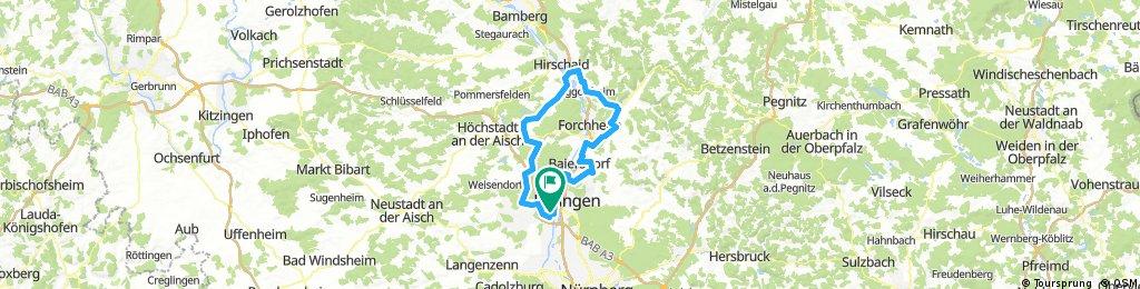 RTF-Erlangen 2017 89km