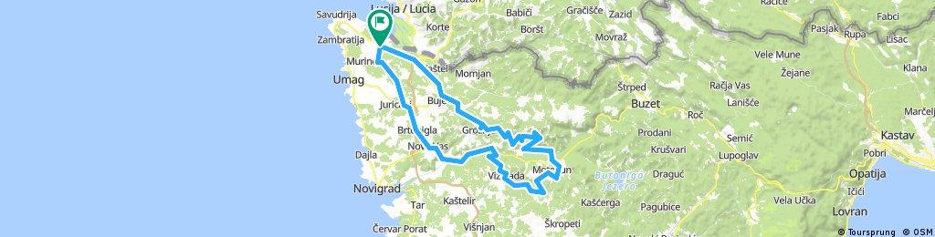 GCTOUR Parenzana 87km