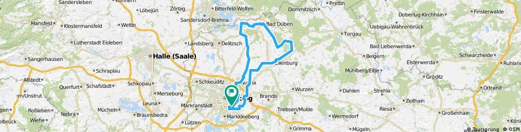 05_2018_110 km Tour Leipzig - Bad Düben - Eilenburg - Leipzig