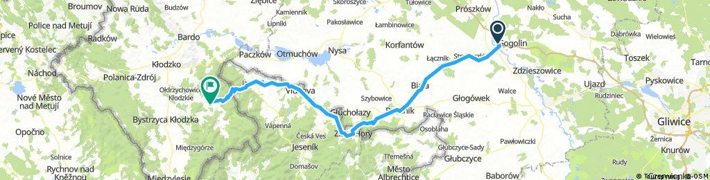 Krapkowice - Lądek Zdrój