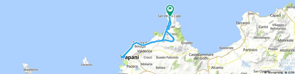 Lange Ausfahrt durch San Vito Lo Capo