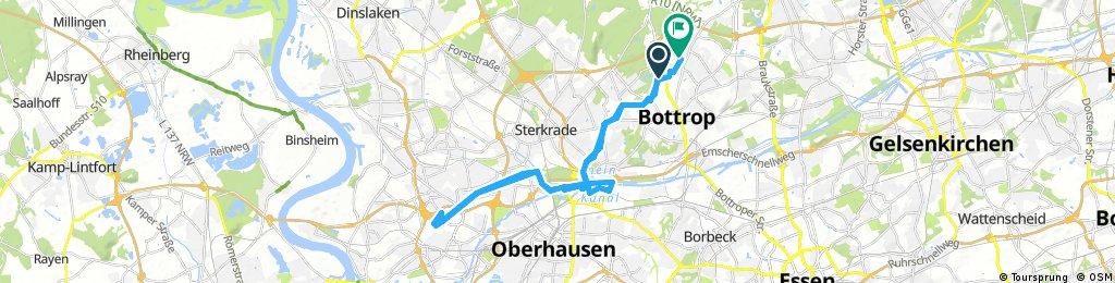 Bottrop-Landschaftspark Duisburg