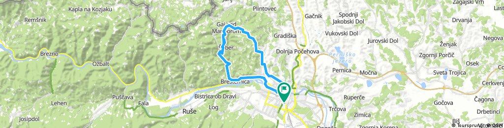 Long ride through Maribor