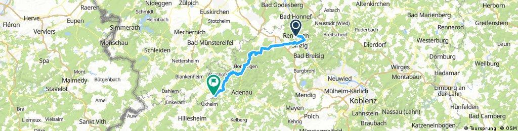 Ahr Kyll Mosel Rhein 1 Tag Remagen Bikemap Your Bike Routes