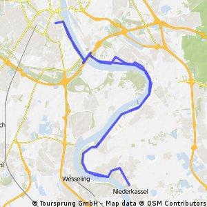 Rhein-Regeneration, kurz