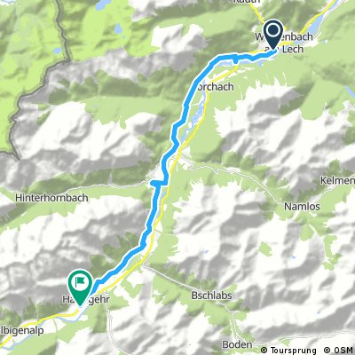 Radtour Lech (Etappe 01)