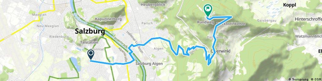 Gaisberg via Aigen MBK