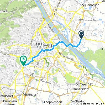 Radrunde durch Wien