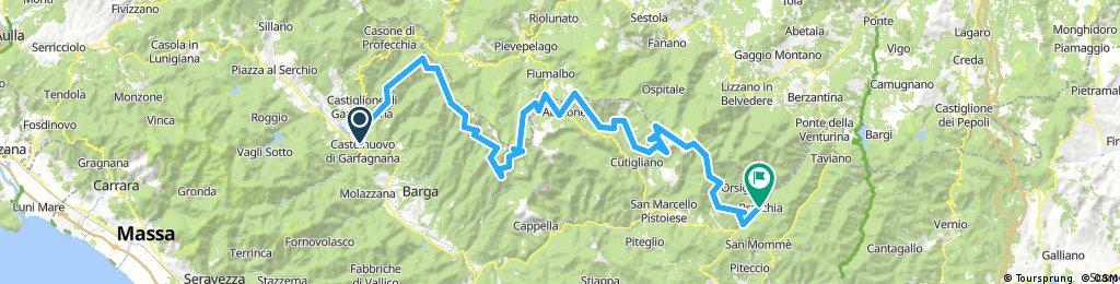 GIT / Castelnuovo di Garfagnana - Pracchia