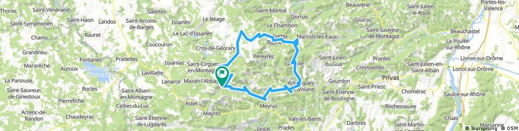 TransAlp2017 - tour Ardeche etappe 3