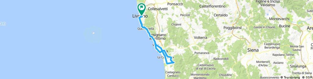 Bolgheri Bikemap Your Bike Routes